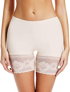 Slip Shorts for Under Dresses Thigh Slimmer Shapewear Panties for Women Anti Chafing Boyshorts