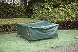 Greenyard Custodia Protettiva per Tavolo da Giardino Gruppo ca. 173x 215x 90cm, Verde
