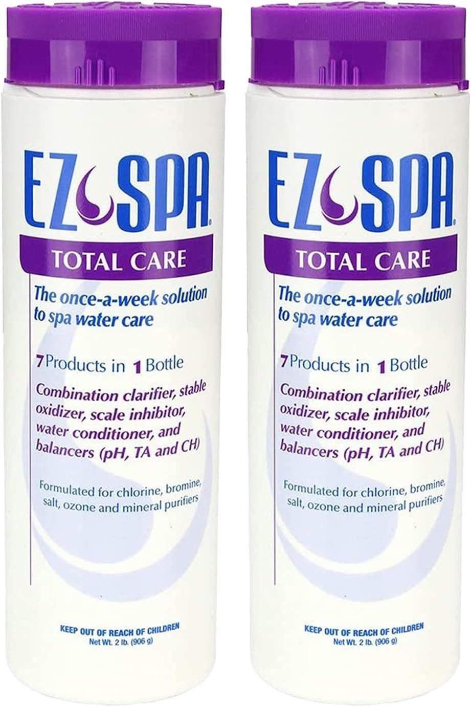 EZ Spa EZSTC2 Hot 日本 Tub Total Weekly Care オリジナル Chemi Water Preventative