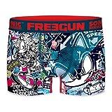 FREEGUN Talla S: Boxer Sonic The Hedgehog, Unitario T212-1, Hombre