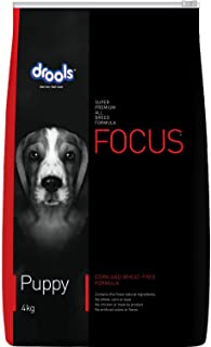 Drools Focus Puppy Super Premium Dog Food, 4kg