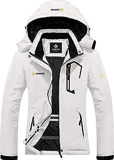 Women's Mountain Waterproof Ski Snow Jacket Winter Windproof Rain Jacket