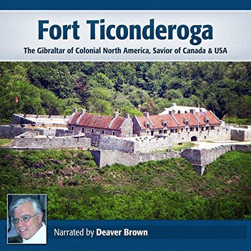 Fort Ticonderoga audiobook cover art
