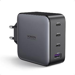 UGREEN 100W USB C Laddare USB C Laddare 4 Portsladdare PD Laddare med PPS GaN Tech Kompatibel med MacBook Pro, MacBook Ai...