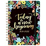 2021-2022 Planner Agenda- Jul. 2021 - Jun. 2022 Weekly & Monthly Planner With Tab, 6.4' x 8.5', Back Pocket, Elastic Closure, Improving Your Time Management Skill