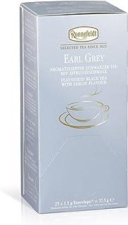 Ronnefeldt Earl Grey, 25 Beutel aromatisierter Schwarztee, 5er Pack 5 x 38 g
