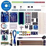 Kuman Arduinoをはじめよう R3ボード スターターキット日本語マニュアル 初心者 LEDセット ブレッドボード 電子工作 アルディーノ Mega 2560 K4