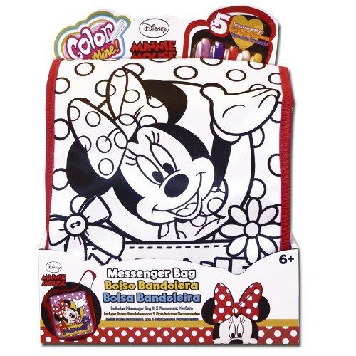 Simba - 38793 - Kit de Loisir Créatif - Minnie Color Me Mine - Sac en Bandoulire