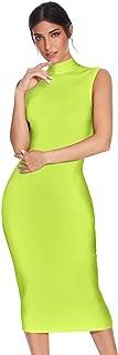 Meilun Women's Knee Length Bandage Dress Bodycon Club Party Dress