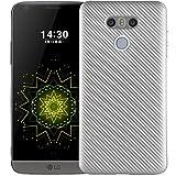 LG G6 G6Pro G6Plus Awesome Shell, Soft Carbon Fiber Scratch