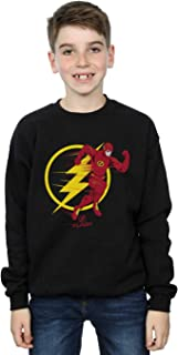 DC Comics Niños The Flash Running Emblem Camisa De Entrenamiento