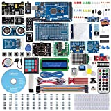 SunFounder Mega2560 R3 Project The Most Complete Starter Kit Compatible with Arduino Mega 2560 R3 Mega328 Nano, Mega2560 Board and 40 Tutorials Included