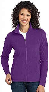 L223 Ladies Microfleece Jacket, Amethyst Purple