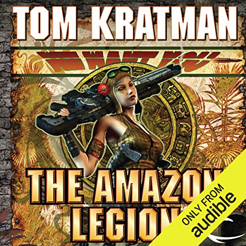 The Amazon Legion audiobook cover art