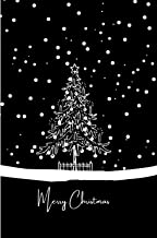 Merry Christmas: journal, diary, notebook (110 Pages, Blank, 6 x 9) (Xmas)