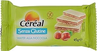 Céréal Wafer Nocciola con crema di Nocciole, Senza Glutine - 45g