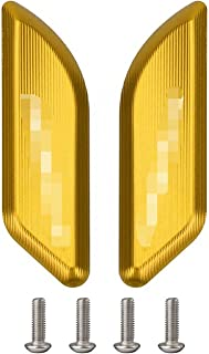 Sandy アルミニウムミラーホールカバープラグの装飾的なキャップミラー駆動の除去装置がフィット ドゥカティPANIGALE V2 959 1299 2020-2021 (Color : Gold)