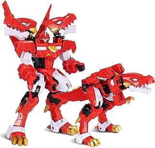 おもちゃ 変形 ロボット XINQI TOYS 暴竜戦車4 豪華版 飞火列车 烈焰霸王龙 合体飞火霸王 (烈焰霸王龙)