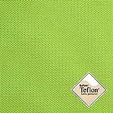 aktivstoffe (8,49€/m) Breaker Teflon® - Tela Repelente al Agua - A Prueba de Viento - Muy Robusta (Color Lima) (por Metro)