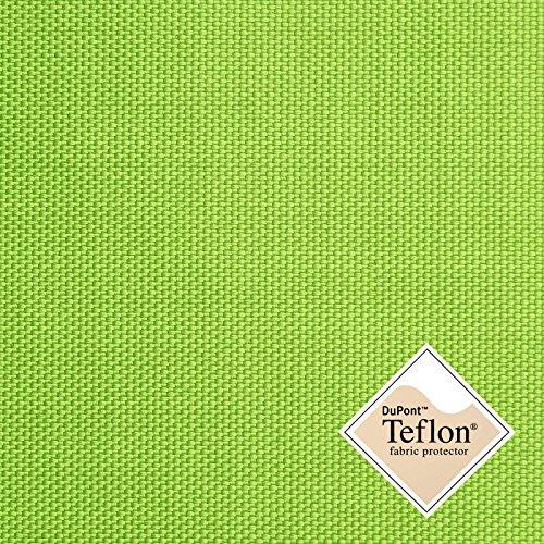Breaker Teflon® - Tela repelente al agua - A prueba de viento - Muy robusta (color lima) (por metro)