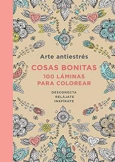 Arte antiestrés/ Art antistress: Cosas bonitas. 100 láminas para colorear/ Pretty things. 100 sheets for coloring (Spanish Edition)