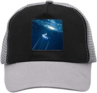 Xieadery Christmas Tree Flat Brim Baseball Cap Adjustable Snapback Trucker Hat Caps Hip Hop Hat