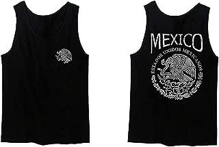 VICES AND VIRTUESS Hecho En Mexico Mexican Flag Coat of Arms Escudo Mexicano Men's Tank Top