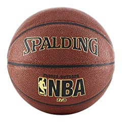 Official NBA size and weight: Size 7, 29.5 inch Zi/O Tournament composite cover Foam backed design for excellent feel Designed for indoor and outdoor play Shipped inflated and game ready