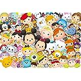 1000ピース ジグソーパズル ディズニー た~くさん!「TSUM TSUM」(51x73.5cm)