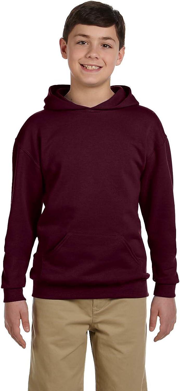 Jerzees Youth 8 oz 50//50 NuBlend Fleece Pullover Hood