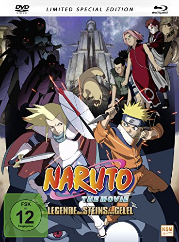 Naruto - The Movie 2: Die Legende des Steins von Gelel (Limited Special Edition im Mediabook inkl. DVD + Blu-ray) [Limited Edition]