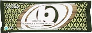 King Soba Org Brown Rice Wakame Noodles 250g