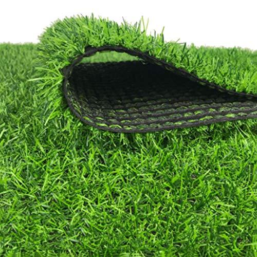 YNFNGXU Kunstrasen 20mm Haufen Hohe Kunststoffmatte Gefälschte Grasgrün Dekoration Hochzeitsort Garten Gefälschte Rasen 2x1m (Size : 2x2.5m)