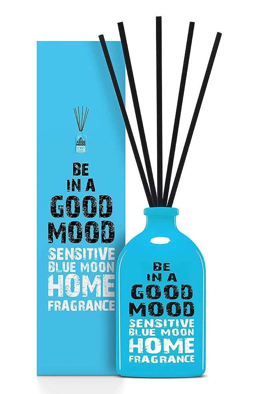 目覚める相談おしゃれなBE IN A GOOD MOOD ルームフレグランス スティック タイプ BLUE MOONの香り (100ml)