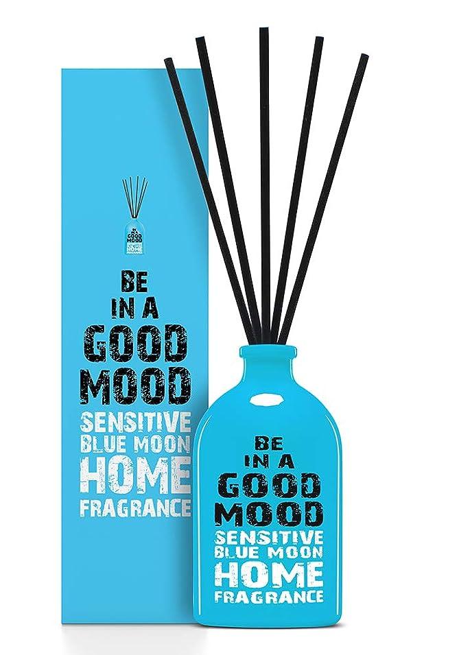 シリンダーホールド発送BE IN A GOOD MOOD ルームフレグランス スティック タイプ BLUE MOONの香り (100ml)