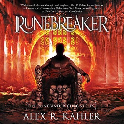 Runemaker audiobook cover art