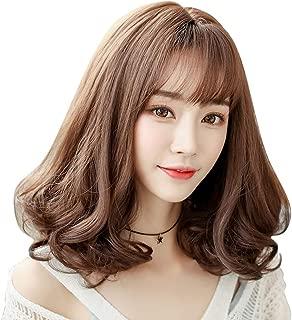Natural Hairpieces Supernatural Short Ladies Straight Hair Brown Heat-resistant Wig