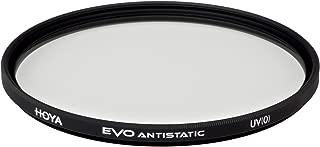 Hoya Evo Antistatic UV Filter - 62mm - Dust / Stain / Water Repellent, Low-Profile Filter Frame