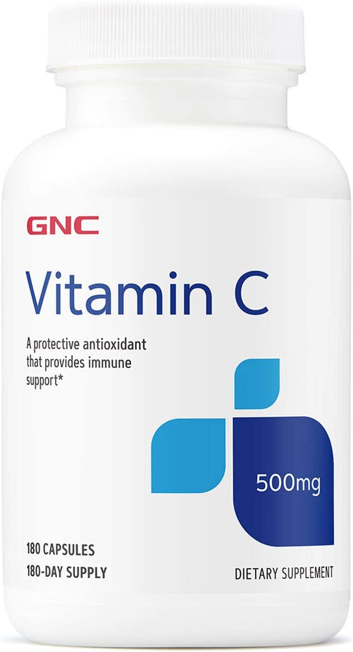 GNC Vitamin C Max 59% OFF Capsules 500mg Supp Immune 180 Safety and trust Provides