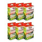 Vax Citrus Burst CarpetBurst Scented Vacuum Cleaner Granules (Pack of 6)