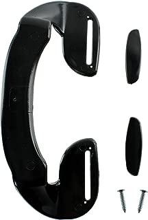 Spares2go Door Handle For Fagor Fridge Freezer (190Mm, Black)