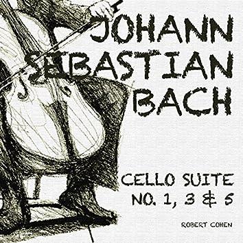 Johann Sebastian Bach: Cello Suite No. 1, 3 & 5