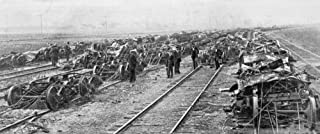 Pullman Strike 1894 Nexamining The Wreckage Of Burned Freight Cars At A Chicago Illinois Railway Yard At The Time Of The P...