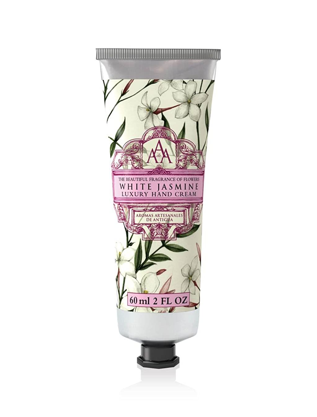 正しく盆労働クルトンヒルファーム ハンドクリーム ホワイトジャスミンの香り 60ml