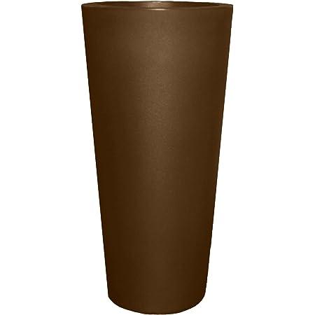 Espresso Tusco Products CTR32ES Cosmopolitan Round Garden Planter 32-Inch