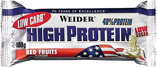 Weider Nutrition Low Carb Stracciatella Bar 100g Estimated Price : £ 61,11