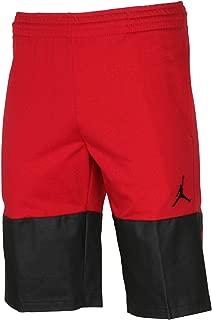 Nike Jordan Mens Flight Lite Fleece Shorts Red/Black Bred New (XL)
