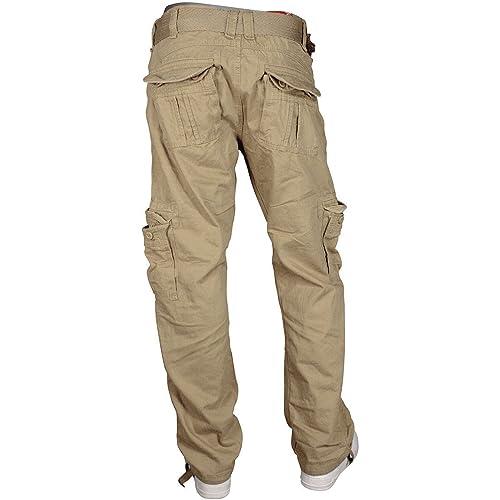 febbaade461f6f Jordan Craig Mens Cargo Pants Black 5300M