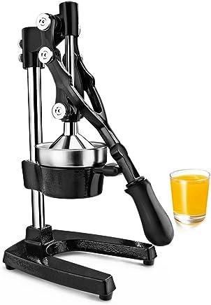New Star Foodservice 46878 Commercial Citrus Juicer, Enameled Black
