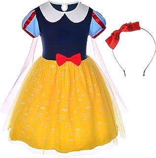 Fairytale Princess Dress Tea or Knee  Length Tulle Dress Size 56 Girl/'s Snow White Costume Snow White Dress Princess Dress
